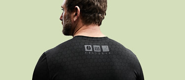 The Condition Black Ceramic Baselayer was developed using elite military insights. See more at vollebak.com