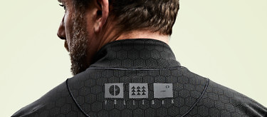 Each Condition Black Ceramic Baselayer is embedded with over 100,000 ceramic particles. See more at vollebak.com
