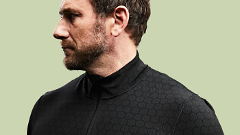 The Condition Black Ceramic Baselayer is breathable and super lightweight. See more at vollebak.com