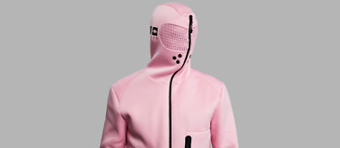 Baker Miller Pink Relaxation Hoodie as seen on The Tonight Show   Buy at www.vollebak.com