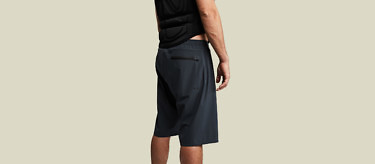 Our amphibious Ocean Shorts are just as amazing on land as they are on water. Buy at vollebak.com