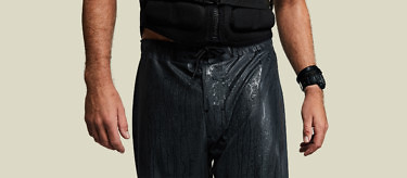 Vollebak's Ocean Shorts in black - the most advanced amphibious shorts on the planet. Buy at www.vollebak.com