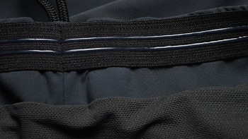 High-grip elastic and silicon inner waistband on our Ocean Shorts | Buy at vollebak.com