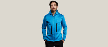 blue relax full front no hood 2752