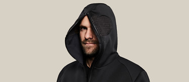 relax black face oprn hood up 2752