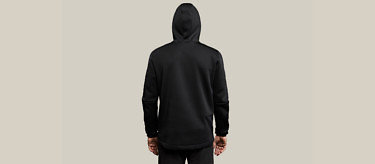 relax black full back hood 2752