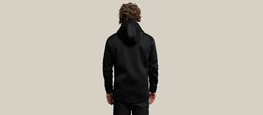 relax black full back no hood 2752
