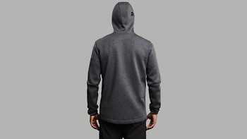 relax grey full back hood 1376
