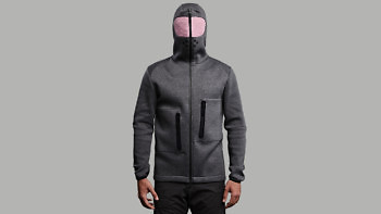 relax grey full front hood 1376