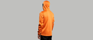 Relaxation Hoodie: Orange edition | Available at vollebak.com