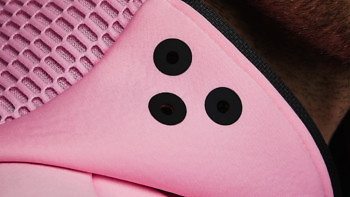 relax pink breath visor detail 1376