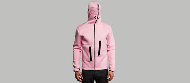 relax pink full front hood 2752