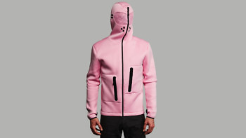 relax pink full front hood turn 1376