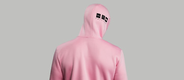 relax pink head turn back full hood 2752
