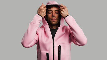 relax pink hood on post sport 1376