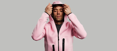 relax pink hood on post sport 2752