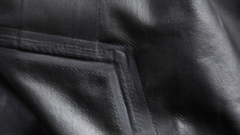 Close up of bonding on the Graphene Jacket | Available at vollebak.com