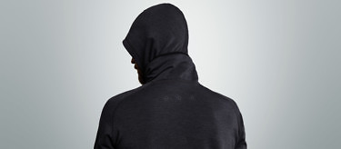 Planet Earth Hoodie: Granite edition | Available at vollebak.com