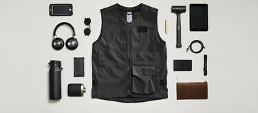 100 Year Vest: Granite edition | Available at vollebak.com