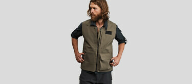 100 Year Vest: Khaki edition | Available at vollebak.com