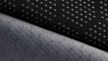 Close up of the Carbon Fibre T Shirt | Available at vollebak.com